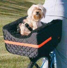 Pet Dog Cat Lookout Carrier Bicycle Seat w/harness 24lb