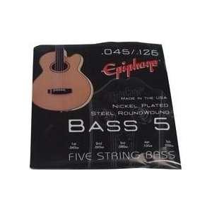 Gibson Epiphone 5 string Bass Guitar 45 126 EBE60M5