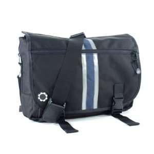 DadGear Center Stripe Messenger Bag (Blue)   TinyRide