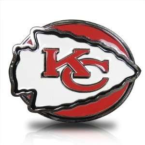 Kansas City Chiefs 3D Logo Trailer Tow Hitch Cover, Official Licensed