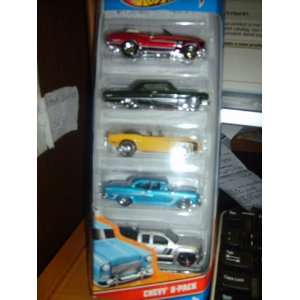 Hot Wheels 5 Car Gift Pack   Chevy Toys & Games