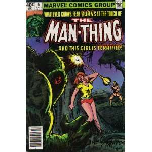 The Man Thing #5 Comic Book