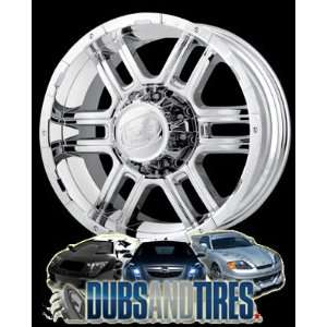 18 Inch 18x9 Ion Alloy wheels STYLE 179 Chrome wheels rims: Automotive