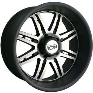 20x10 Black Wheel Alloy Ion Style 183 8x6.5 Automotive