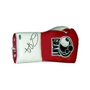 Roy Jones Jr. Autographed Red Grant Model Boxing Glove