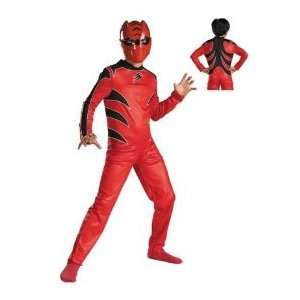 Power Rangers Red Ranger Jungle Fury Muscle Costume