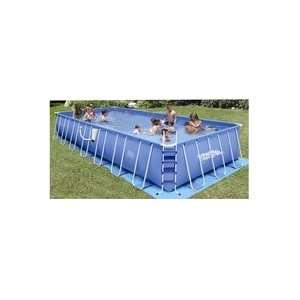 Rectangular Frame Summer Escapes Pool: Toys & Games