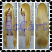 Cosplay Wig Vocaloid Lily Rin Long Golden Blonde 80cm 32 Gold