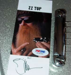 ZZ Top Billy Gibbons Autographed Signed Guitar PSA/DNA UACC RD COA