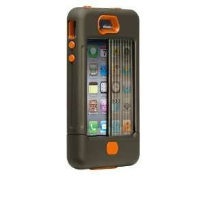 Case Mate iPhone 4S 4 Tank Case Cover Orange Green VERY FAST SAME DAY
