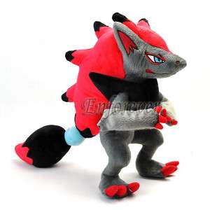 12 Pokemon New ZOROARK Rare Plush Doll^PC401