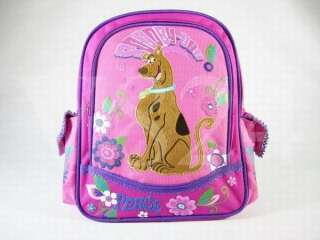 WB Scooby Doo 12 School Bag BackPack Pink 38947