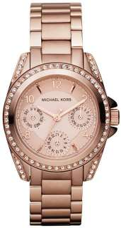 New Michael Kors MK5613 Rose Gold Blair Multifunction Ladies Watch