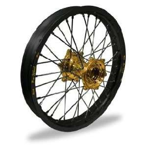 Wheel Set   21x1.60   Black Rim/Gold Hub 23 41042 HUB/RIM Automotive