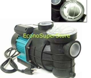 HP ON INGROUND SWIMMING POOLS WATER PUMP w/Strainer