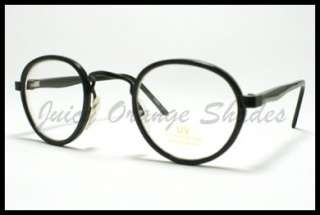 4f99201bad8 ... UNIQUE VINTAGE Small ROUND Eyeglasses for Men Women BLACK New ...