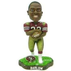 Barlow San Francisco 49ers Game Worn Bobble Head