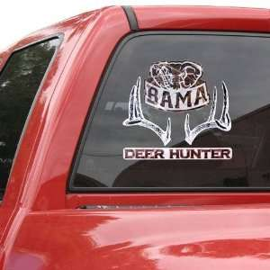 Alabama Crimson Tide 12 Camo Deer Car Decal