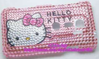 New Hello kitty Bling Case Cover For Sprint HTC EVO 3D #2
