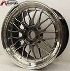 18X8/9 HYPER BLACK LM STYLE RIM WHEEL FIT BMW 3233 325 328 330 335I Z3
