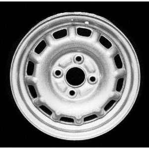 93 98 TOYOTA TERCEL STEEL WHEEL RH (PASSENGER SIDE) RIM 13