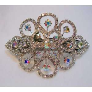 Gorgeous Crystal Hair Barrette Clip