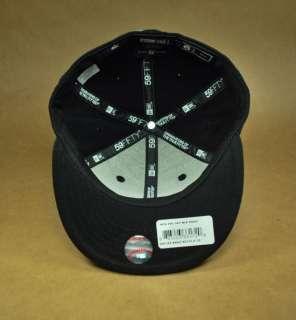 NEW YORK YANKEES BLACK WHITE CAP CHILDREN SIZE BASEBALL 59FIFTY