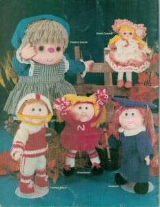 Sculptured Doll & Clothes Pattern for Doll Heads Your Choice