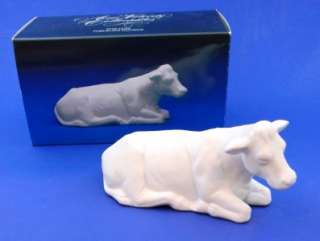 1987 Avon Nativity Collectibles Porcelain The Cow MIB