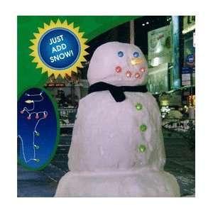 Snowman Lights Set, Battery Operated