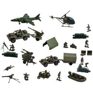 Classic Armour Combat Series   4 Pack Playset Toys & Games