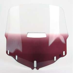 SHADES TALL WINDSHIELD WITH VENT HOLE (GRADIENT PURPLE) Automotive
