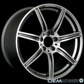 GUNMETAL WHEELS FITS MERCEDES BENZ AMG W204 C300 C350 C63 COUPE RIMS