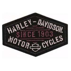 Harley Davidson Motorcycles Patch Archiac logo since 1903 New for vest