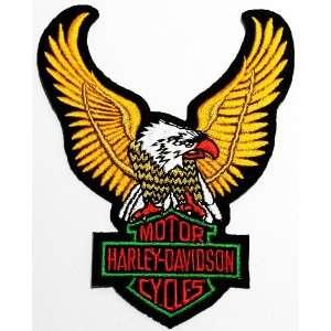 SALE 3.4 x 4.5 Harley Davidson Biker Clothing Jacket Shirt Iron on