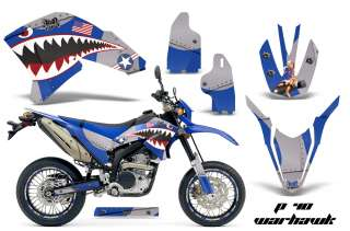 AMR RACING DIRT BIKE BACKGROUND GRAPHIC WRAP KIT YAMAHA WR 250 X R 07