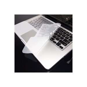 TopCase SILVER Keyboard Silicone Skin Cover with palm rest