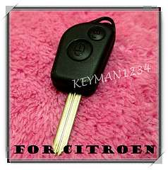 Citroen Saxo Xsara Picasso Berlingo 2 Button Remote Key Fob Case Shell