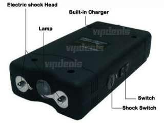 Lot Of 4 x New PHX 800 7.8 Million Volt Mini Stun Gun With LED