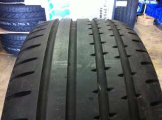 18 USED TIRE 255 40 18 CONTINENTAL SPORT CONTACT 2 70%