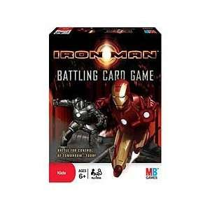 Iron Man Battling Card