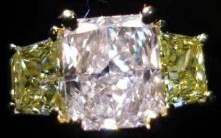 Fancy Light Orangey Pink Int Yellow GIA diamond Ring R2727 Diamonds by