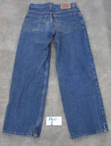 Pairs Boys Levis 550 Relaxed Fit 14 Reg Jeans 27x27