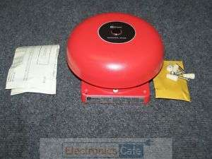 Simplex 2901 9321 6 24 28V .11A RED Fire/Alarm Bell