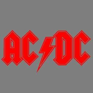 AC/DC D2 (RED) DECAL STICKER WINDOW CAR TRUCK FORD CHEVY