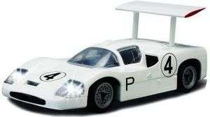 SCALEXTRIC 1/32 SLOT CAR CHAPARRAL 2F #4 WHITE #C2916