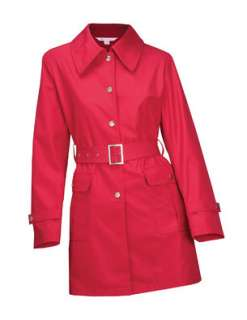 Womens Trench Rain Coat Windproof Water Resistant Brand New COLOR