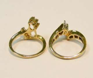 80cttw MARQUISE CUT DIAMOND ENGAGEMENT WEDDING RING WRAP SET *