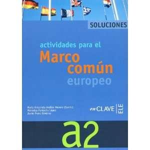 Actividades para el MCER A2 Solucionario (Spanish Edition) [Paperback