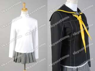 Shin Megami Tensei Persona 4 P4 Cosplay School Girl Uniform Costume